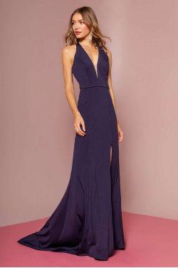 91b1444022c1 Enkel kjole med åben ryg 2668