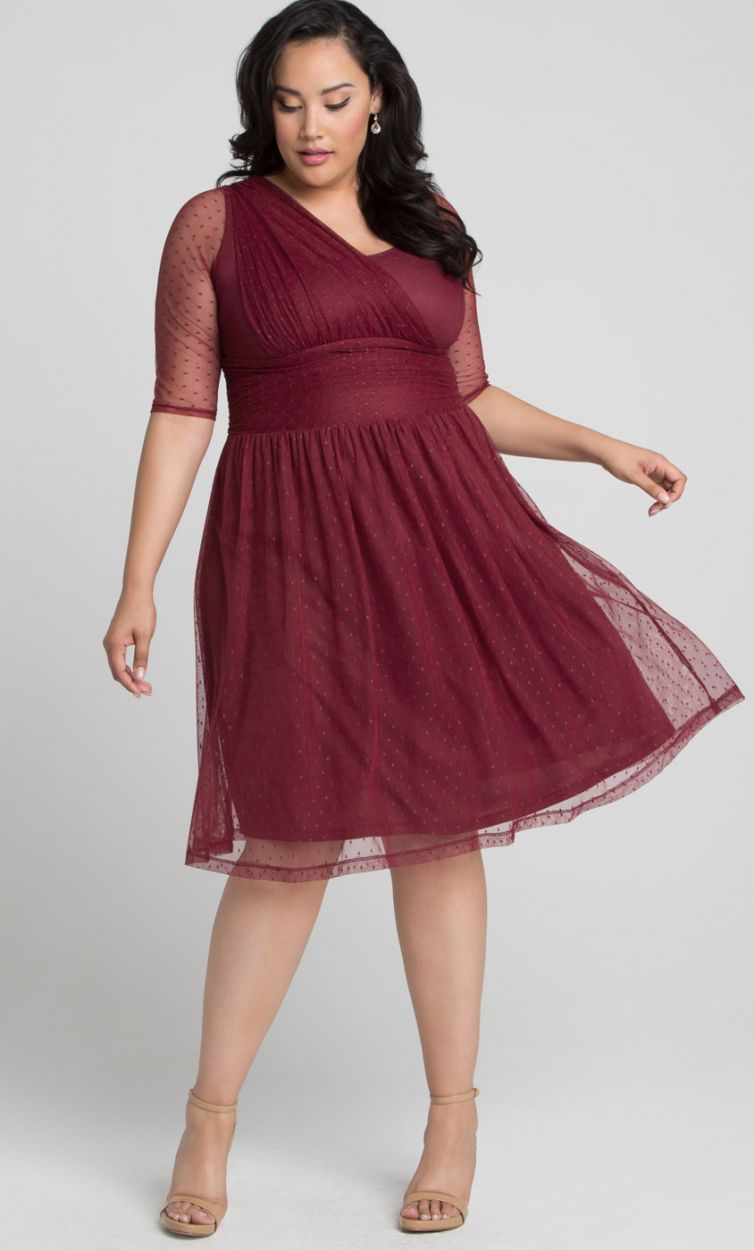 f019f231 Plus size kjole | Køb kjoler i store størrelser online | Se det store udvalg